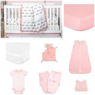 Best Reviews Ellie Essentials 11 Piece Crib Bedding Set By The Peanut Shell