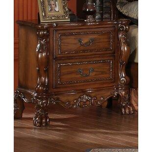 Astoria Grand Serena 2 Drawer Nightstand