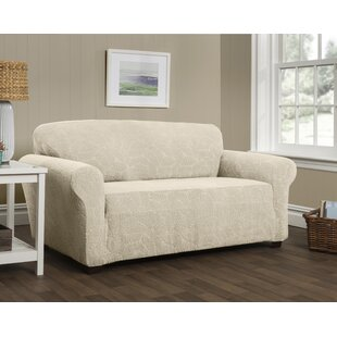 Compare prices Stretch Box Cushion Sofa Slipcover by Red Barrel Studio Reviews (2019) & Buyer's Guide