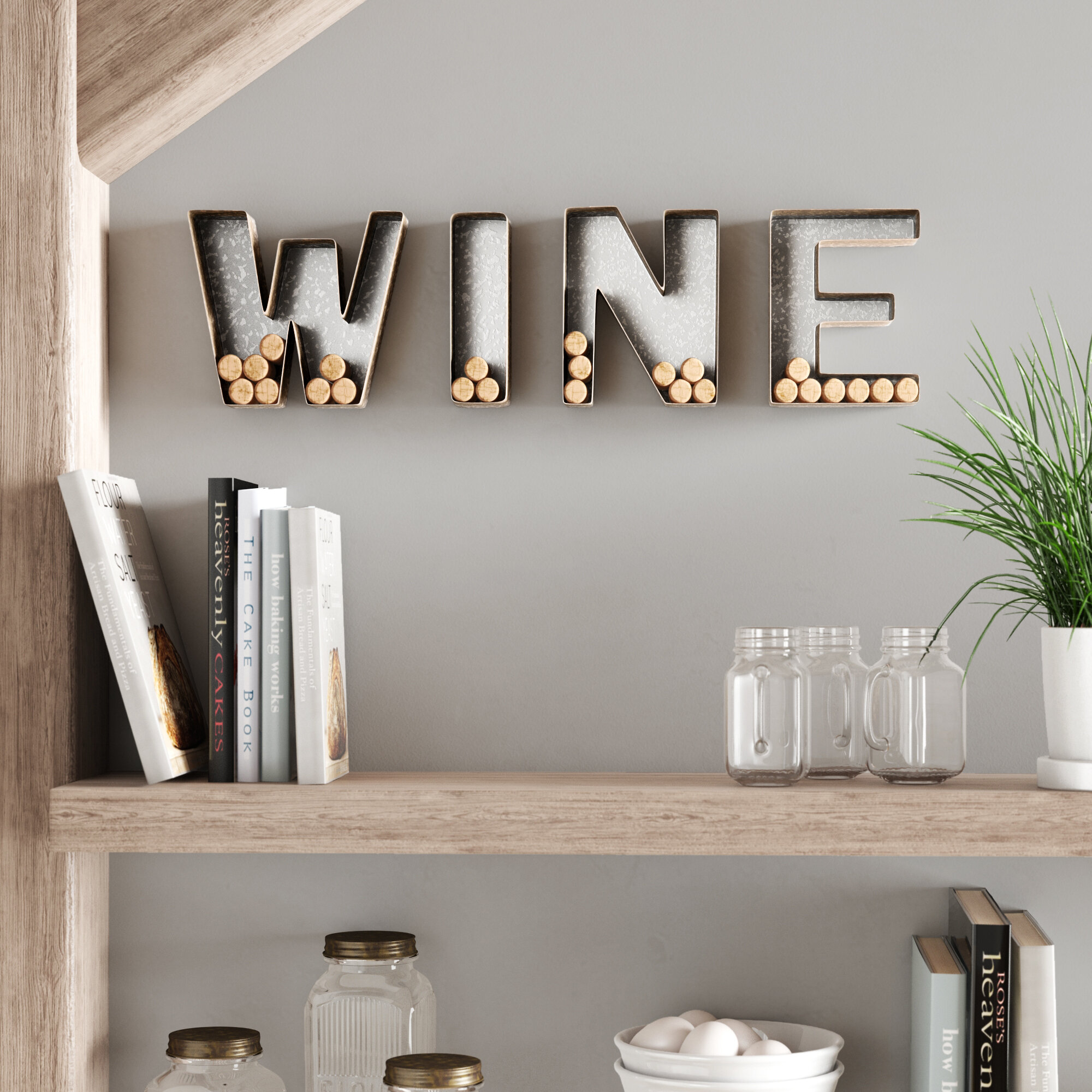 letter wall decor stickers