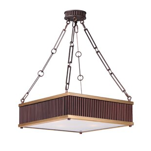 Mercer41 Langton 4-Light Square Pendant