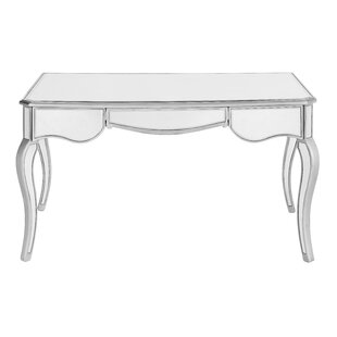 Orpha Glass Writing Desk