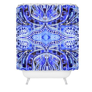 Amy Sia Paisley Deep Single Shower Curtain