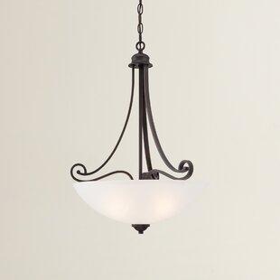 Elinor 1-Light Bowl Pendant by Fleur De Lis Living