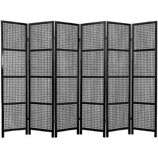 Bay Isle Home Stoehr Shoji 6 Panel Room Divider