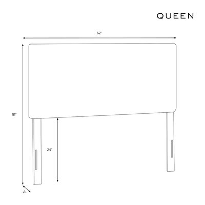 Courtney Upholstered Panel Headboard Wayfair Custom Upholstery™ Size: Queen, Body Fabric: Patriot Blueberry