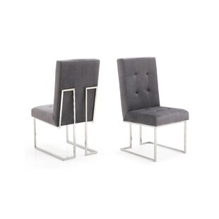 Frisina Modern Upholstered Dining Chair (Set of 2)