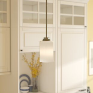 Andover Mills Castano 1-Light Cylinder Pendant