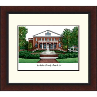 NCAA East Carolina Pirates Legacy Alumnus Lithograph Picture Frame By Campus Images