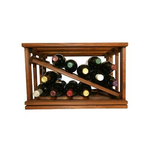 Allaire 12 Bottle Tabletop Wine Rack by D..