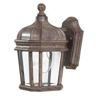 Order Harrison 1-Light Outdoor Wall Lantern By Great Outdoors by Minka