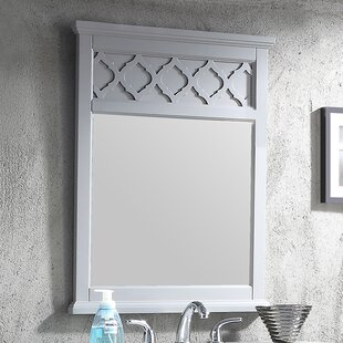 Top Reviews Allen 24 Wall Mounted Beveled Mirror By House of Hampton