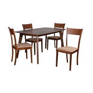 Roosevelt 5 Piece Dining Set Corrigan Studio