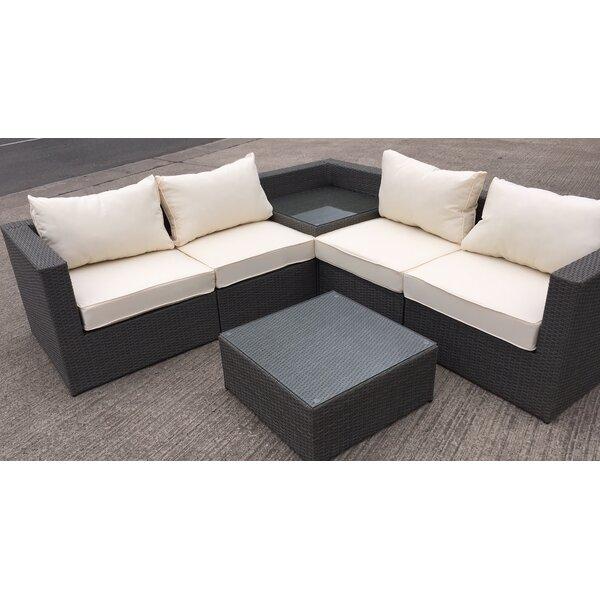 L Shaped Sofa With Corner Table | Catosfera.net