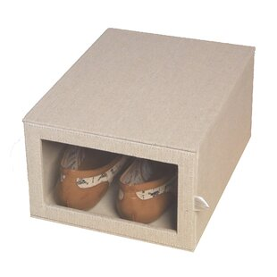 Shopping for Loft Arrow Drop Front Shoe Storage Box By Richards Homewares