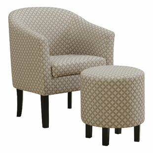 Athey Armchair and Ottoman by Charlton Home