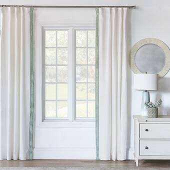 Canora Grey Puma Pole Top Floral Flower Sheer Rod Pocket Curtain Panel Wayfair