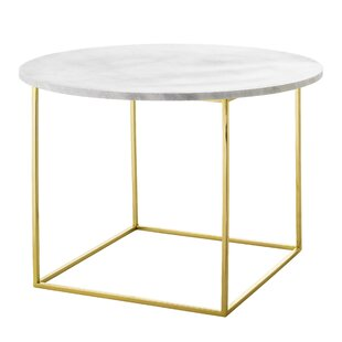 Reviews Brezina Metal End Table by Mercer41