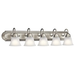 Read Reviews Nistler 5-Light Vanity Light By Darby Home Co