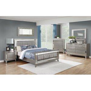 Alessia Panel Configurable Bedroom Set