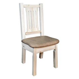 Abella Slat Back Side Chair by Loon Peak
