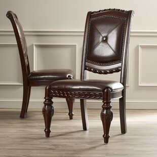 Hassler Upholstered Dining Chair (Set of 2) Astoria Grand