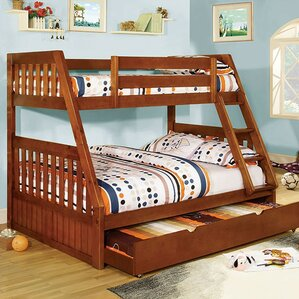Carrie Twin over Full Bunk Bed by A&J Homes Studio