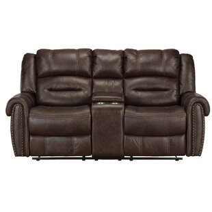 Shop Marionville Reclining Loveseat by Winston Porter