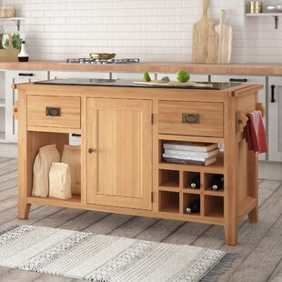 Millais Premium Kitchen Island With Granite Top By Union Rustic