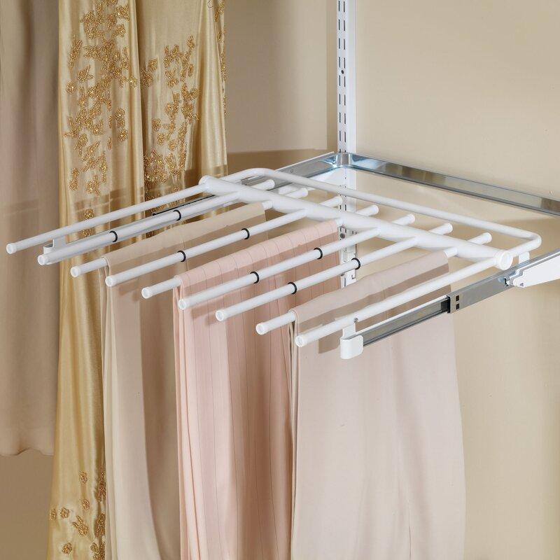 Superbe Configurations Closet Sliding Pants Rack