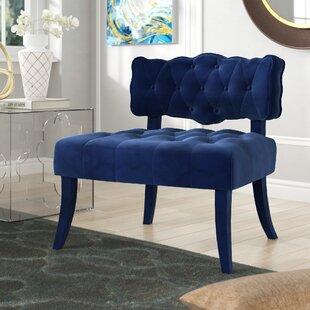Comparison Fairway Slipper Chair by Everly Quinn