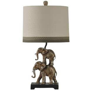 Armstrong Stacking Elephant 28 Table Lamp