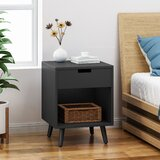 Jaxton End Table with Storage by George Oliver