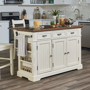Hewson Kitchen Island August Grove