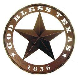 Texas Star Wall Decor leighcountry god bless texas and 1836 star wall décor & reviews