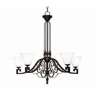 2nd Ave Design Suri 5-Light Shaded Chandelier