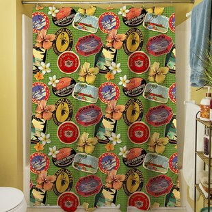 Aloha Single Shower Curtain
