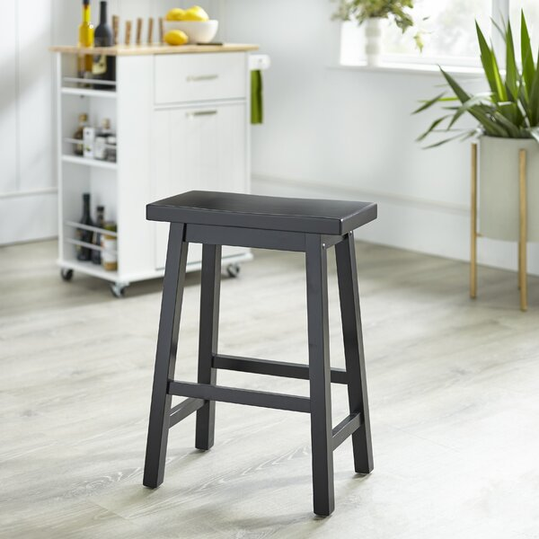 Beachcrest Home Kirkwood Solid Wood Bar And Counter Stool Reviews Wayfair