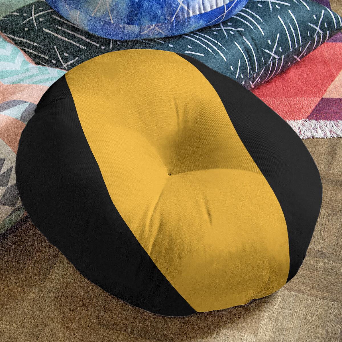 Artverse Los Angeles La Basketball Striped Round Floor Pillow Wayfair