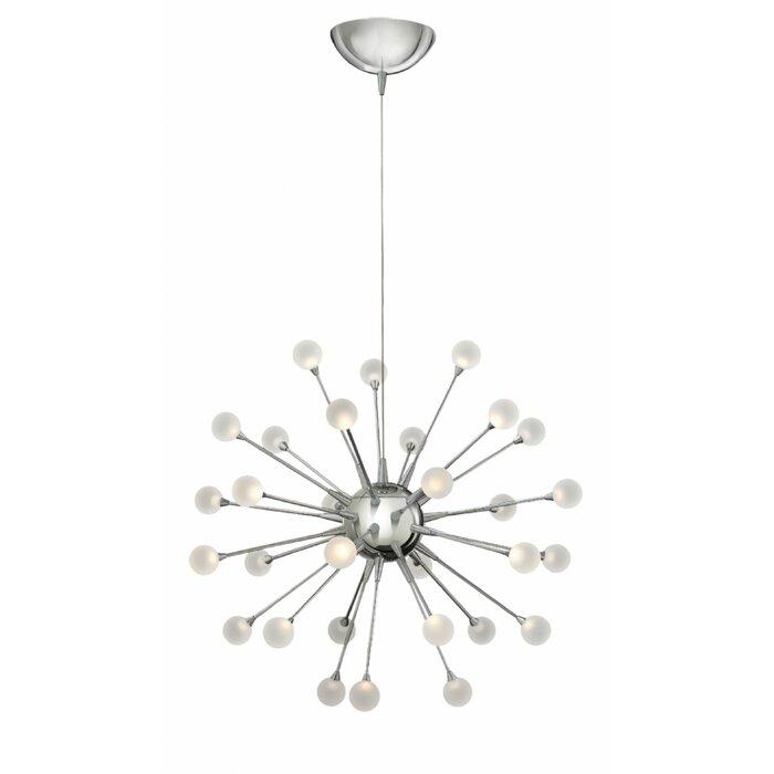 save off 734f5 b97e6 Impulse 30-Light LED Sputnik Chandelier