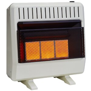 dual fuel ventless infrared btu natural gas propane wall mounted heater with automatic thermostat - Propane Space Heater