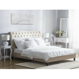 Review Halvorsen European Kingsize (160 X 200cm) Upholstered Bed Frame
