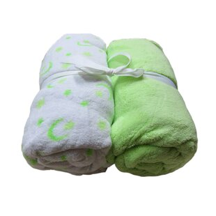 Check Prices Microplush Fitted Crib Sheets (Set of 2) ByCozy Fleece