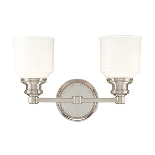 Latitude Run Carnahan 2-Light Vanity Light