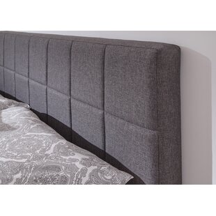 Aadil Double (4'6) Upholstered Bed Frame By Mercury Row