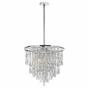Mercer41 Louth 8-Light Crystal Chandelier