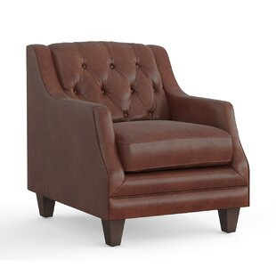 Darby Home Co Pihu Leather Armchair