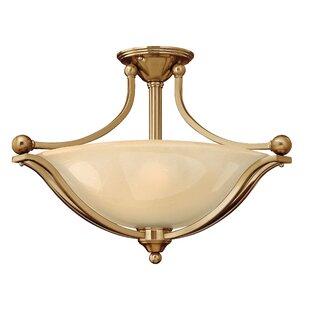 Bolla 3-Light Semi Flush Mount by Hinkley Lighting