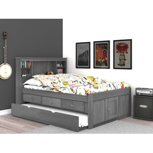 Garry Full Mate's & Captain's Bed with Drawers and Trundle by Harriet Bee