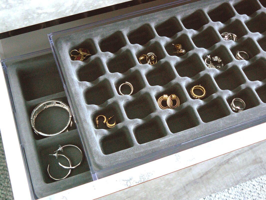 Rebrilliant Jewelry Organizer for Earrings Reviews Wayfair